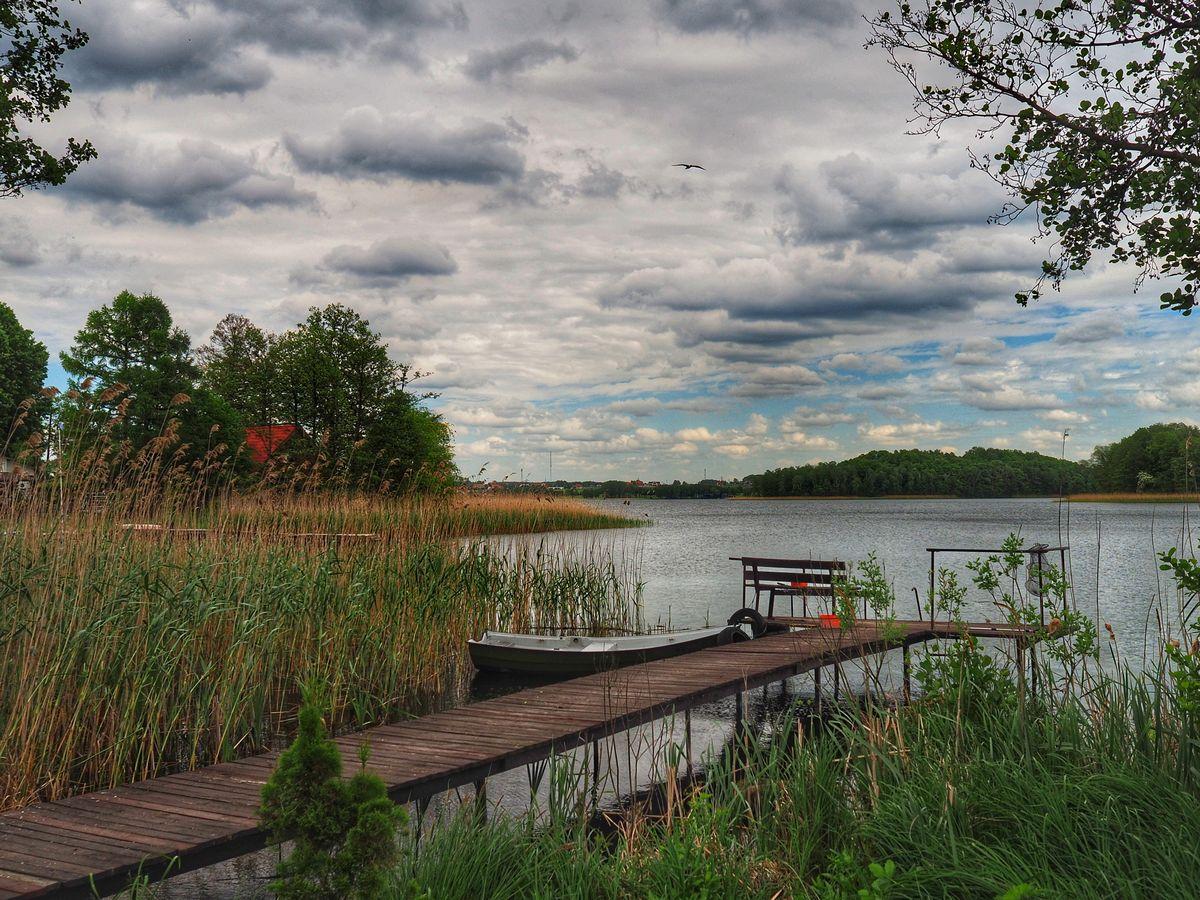 Majdy: jezioro Wulpińskie