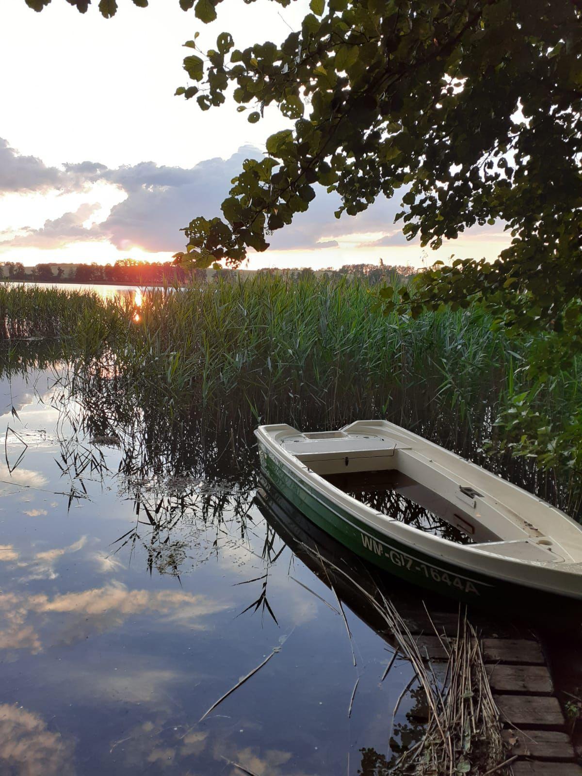 Jezioro Ołów (koło Rynu) Monika Żukowska