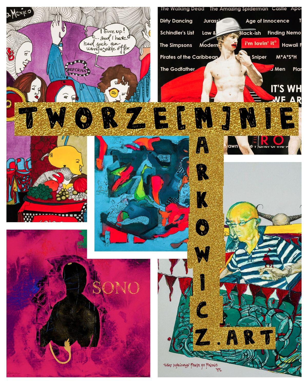 """Wystawa Agnieszki Markowicz """"TWORZE[M]NIE""""  - full image"""