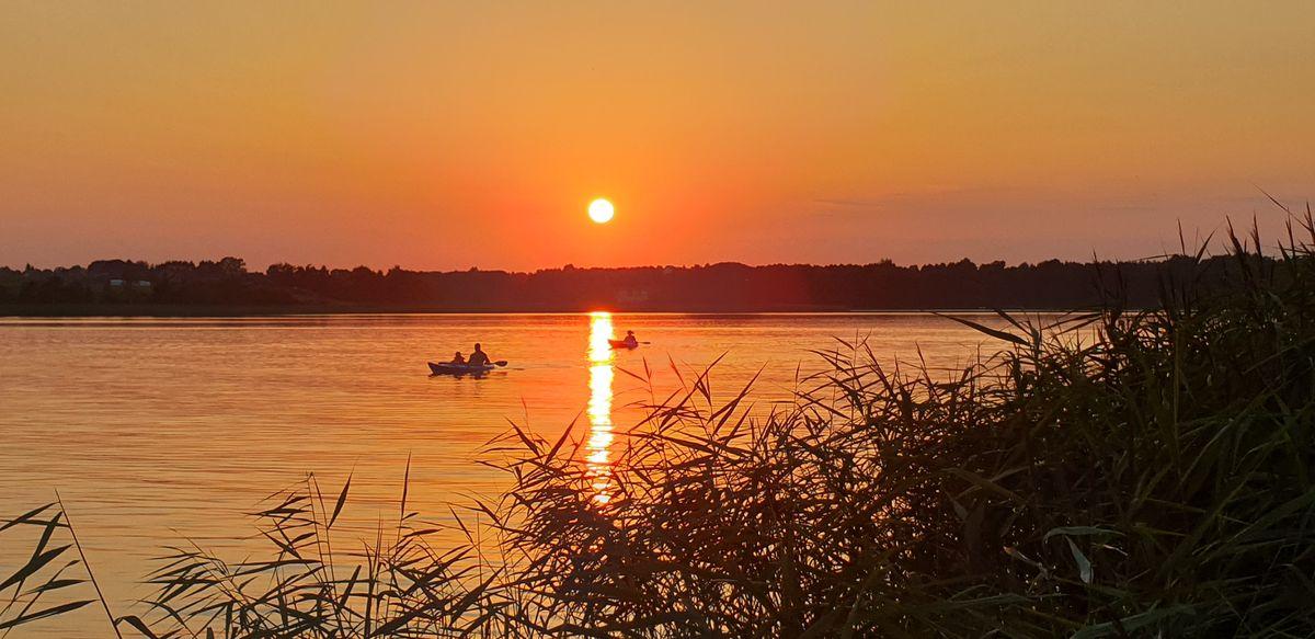 Kątno,  jezioro Szeląg Wielki Marta Szpakowska