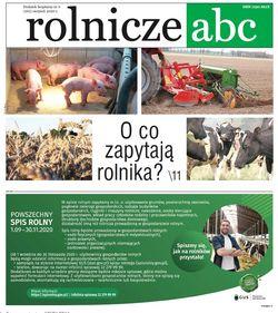 Rolnicze ABC - sierpień 2020