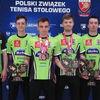 Tenisiści stołowi Morlin Ostróda zdobyli pięć medali na mistrzostwach Polski U-21