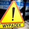 Ciężarówka wypadła z drogi na trasie Wiśniewo - Stare Kosiny