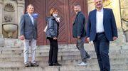 Przedstawiciele stowarzyszeń przed spotkaniem z prezydentem miasta