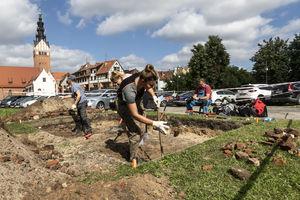 Archeolodzy w Elblągu namierzają zamek