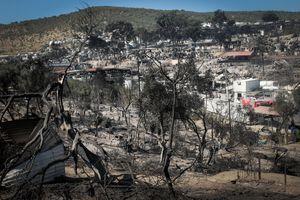 Obóz spłonął doszczętnie. Ełczanie widzieli zgliszcza Morii