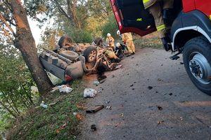 Śmiertelny wypadek między Reszlem a Pleśnem