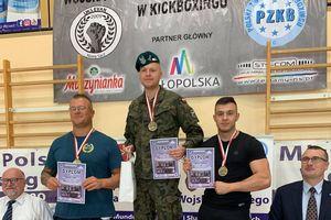 Olecczanie na podium mistrzostw Polski w kickboxingu