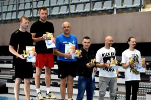 Jesienny turniej badmintona w Olecku