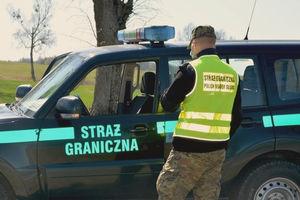 Nietrzeźwy kierowca jednośladu zatrzymany przez Straż Graniczną