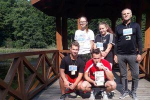 Reprezentanci Olecka biegali w Giżycku