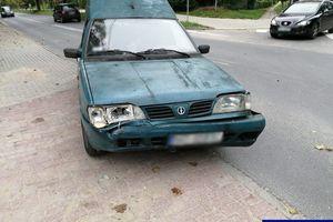 Stulatek za kierownicą poloneza doprowadził do kolizji