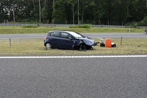 Dwa wypadki drogowe jednego dnia