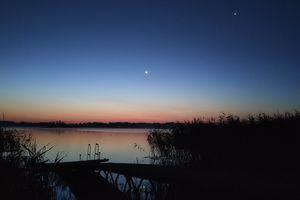 Wymień zdjęcie na prenumeratę: Świt nad jeziorem Blanki