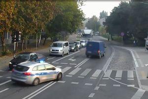 Na olsztyńskim Zatorzu policjanci ścigali kierowcę mercedesa [VIDEO]