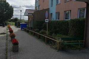 Prosto z ulicy: a przy Barcza 14 kwitną kwiaty...