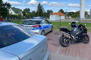 Pościg od Jeży do Pisza. Motocykliści uciekali przed policją