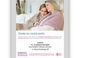 Darmowe badania mammograficzne – zarejestruj się!