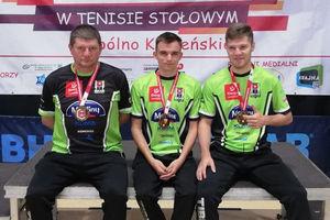 Pingpongiści Morlin Ostróda na medal zaczęli młodzieżowe mistrzostwa Polski