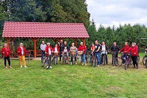 Mieszkańcy sołectwa Naprom urządzili sobie rajd rowerowy