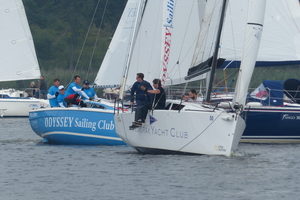 """Jeziorak Yacht Club zdobył """"Błękitną Wstęgę Jezioraka""""! Na starcie ponad 50. załóg [foto]"""