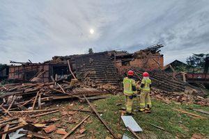Lidzbarscy strażacy pomagali w Deksytach