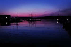 Wymień zdjęcie na prenumeratę: Przystań nad jeziorem Ukiel