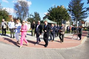 Ulica Dąbrowskiego już oficjalnie oddana do użytku