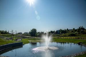 Nowe zbiorniki retencyjne w Olsztynie tworzą atrakcyjną przestrzeń