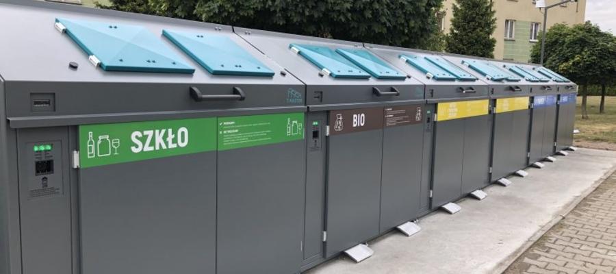 Z takich pojemników na śmieci korzystają mieszkańcy Ciechnowa. Czy Olsztyn również rozważ ich zakup?