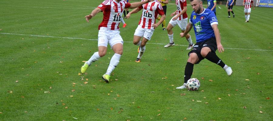 Piłkarze z Morąga po raz kolejny nie potrafili odnieść zwycięstwa na swoim terenie, tym razem przegrywając z Pogonią