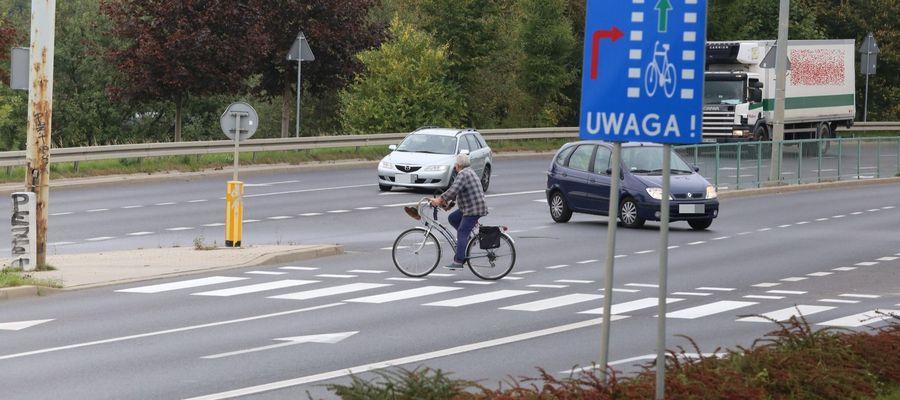 Przejście dla pieszych na ul. Synów Pułku