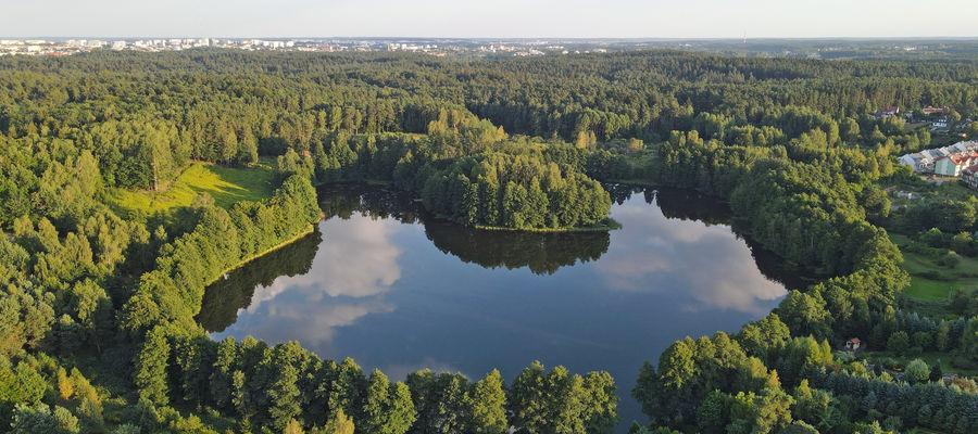 Olsztyn, Redykajny - jezioro Siginek (Podkówka)