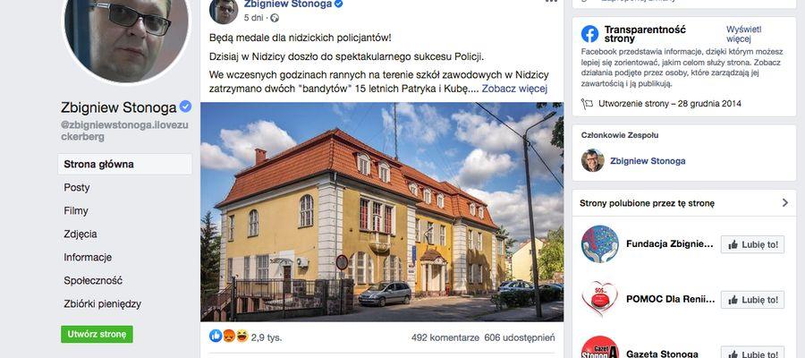 Post Zbigniewa Stonogi wywołał wiele emocji wśród internautów