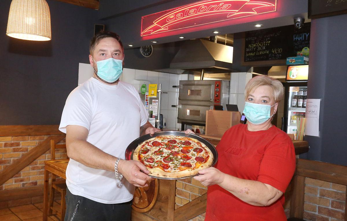 Pizzeria Calabria, Olsztyn Wilczyńskiego 38
