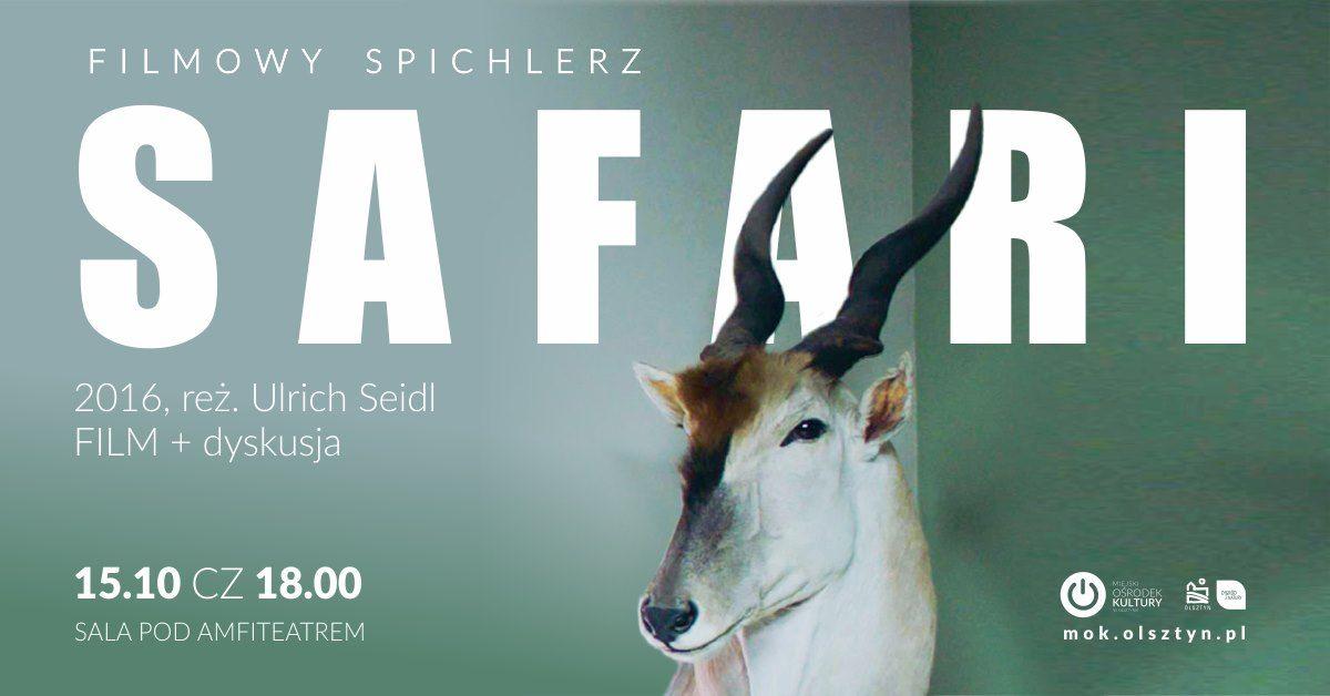 FILMOWY SPICHLERZ: SAFARI - full image