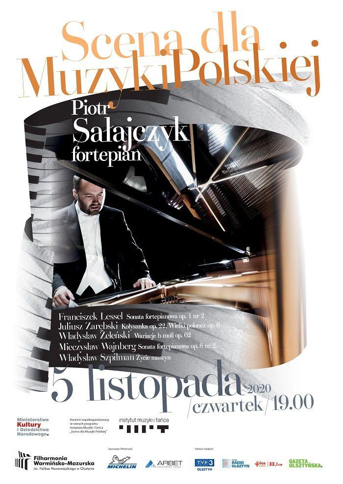 Koncert fortepianowy Piotra Sałajczyka - full image
