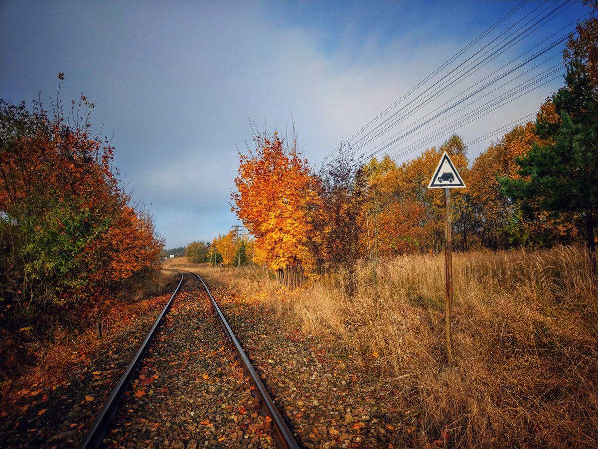 Zamknięta trasa kolejowa Biskupiec -Mrągowo (okolice Parlezy)