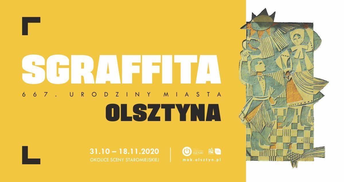 Wspólne podziwianie olsztyńskich sgraffit - full image