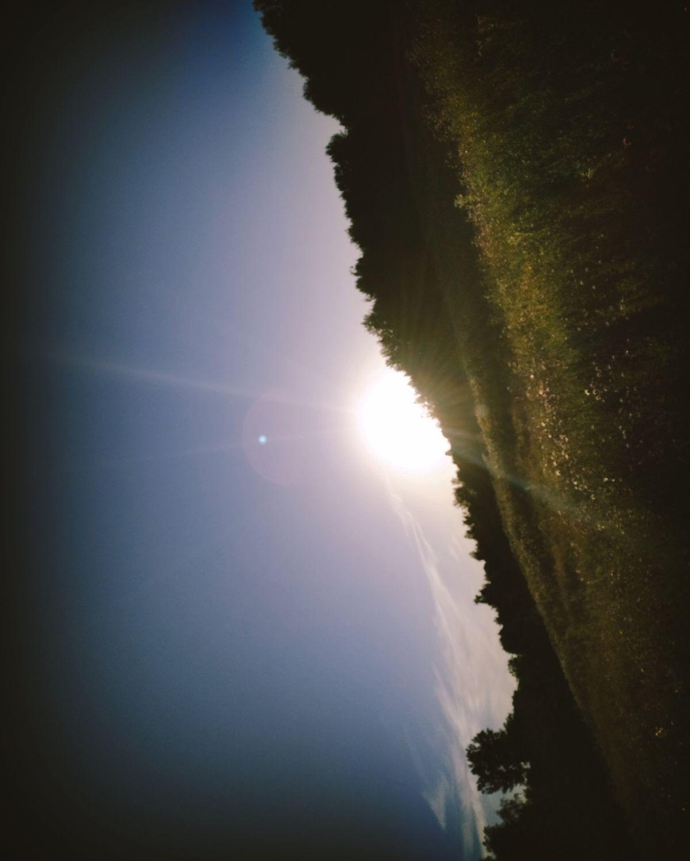 Wschód słońca w okolicy Mrągowa