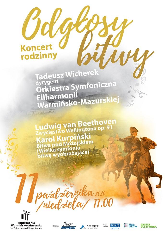 Koncert rodzinny w Filharmonii – Odgłosy bitwy