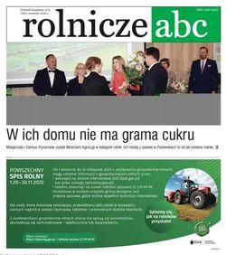 Rolnicze ABC - wrzesień 2020