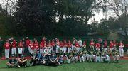 Kadra Województwa Warmińsko-Mazurskiego ze srebrem na  Międzywojewódzkich Mistrzostw Młodzików w baseballu.