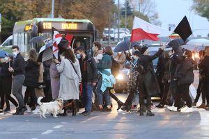 Olsztynianie znów wyszli na ulice, by protestować przeciwko decyzji Trybunału Konstytucyjnego [ZDJĘCIA, VIDEO]