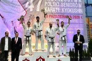 Karateka z Olecka brązowym medalistą mistrzostw Polski