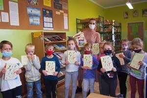 Wojciechy. Pierwsza wizyta w bibliotece szkolnej
