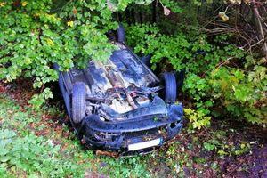 Wypadek na trasie Pisz – Ruciane-Nida