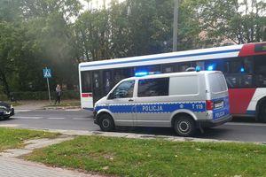 Potrącenie na przejściu dla pieszych na Nagórkach w Olsztynie