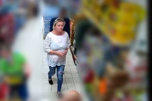 Policja publikuje wizerunek kobiety podejrzanej o kradzież