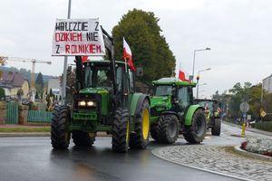 Rolnicy protestują! [ZDJĘCIA]